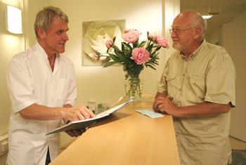 Kostnadsfri hälsoundersökning på AAA-kliniken